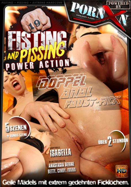 Betty, Cindy, Anastasia Devine, Ivana, Isabella Clark - Fisting and Pissing Power Action 19 (2011/SD)