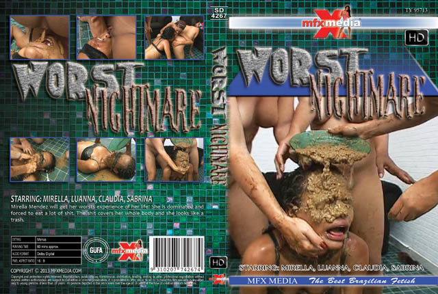 MFX Media: [SD-4267] Worst Nightmare - (Mirella, Luanna, Claudia, Sabrina) [HDRip]