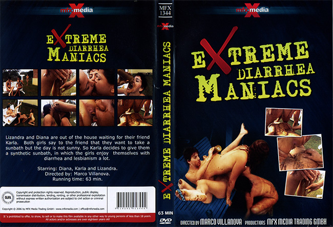 arla, Diana, Lizandra - MFX-1344 Extreme Diarrhea Maniacs [DVDRip]- Mfx-Media