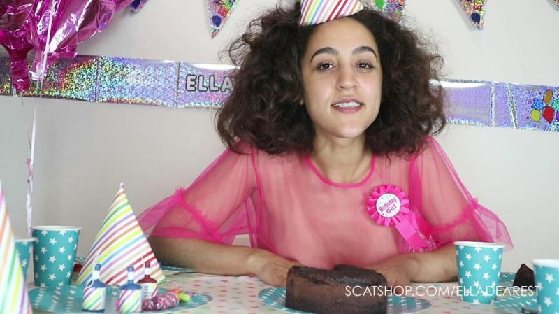 EllaDearest - Hand Finishing My Birthday Cake [Smear] (FullHD 1080p|mp4|1.31 GB|2018)