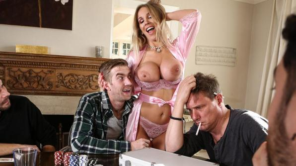 Rebecca More - Poker Face (RealWifeStories, Brazzers/720p/791 MB)