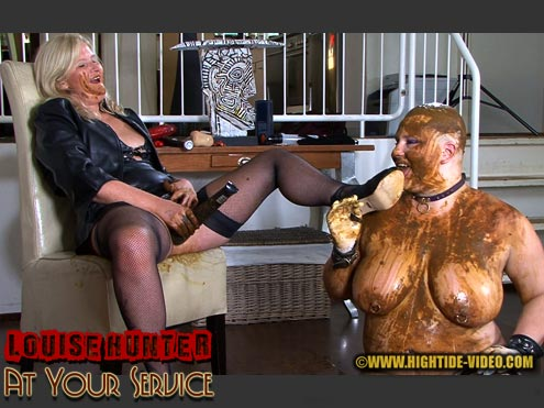 Hightide-Video.com - Louise Hunter, Marlen - LOUISE HUNTER - AT YOUR SERVICE [HD 720p]