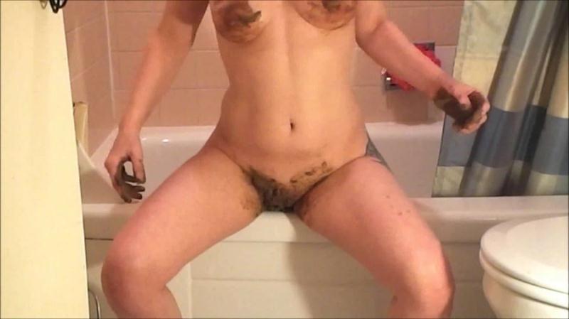 CosmicGirl - Poopy Dildo Fun - 2 Clip Special [Shit Masturbation] (FullHD 1080p|mp4|555 MB|2018)