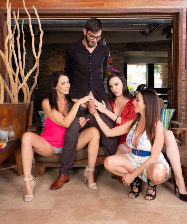MyFriendsHotMom/NaughtyAmerica - - Ariella Ferrera, Dana Dearmond, Reagan Foxx - My Friends Hot Mom [HD 720p]