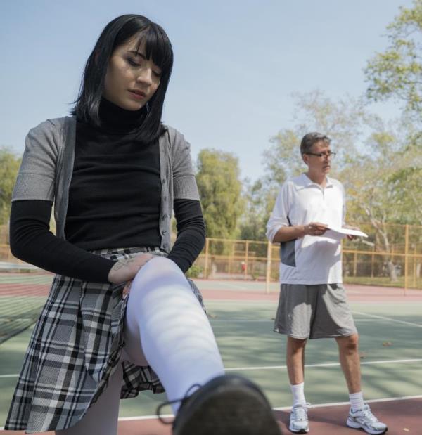 TeenFidelity: - Charlotte Sartre, Steve Holmes - - Tennis 101 (2018) HD - 720p