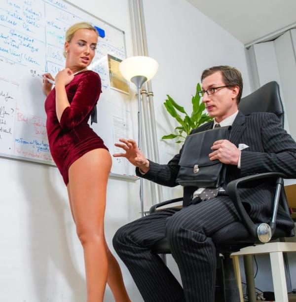 BumsBuer/PornDoePremium: - Victoria Pure - - Intense fuck fest with office babe Victoria Pure (2018) HD - 720p