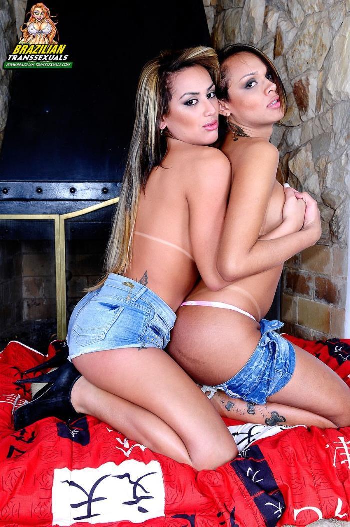 BrazilianTranssexuals.com - - Juliana Souza, Camila Klein - Superstars Juliana Souza And Camila Klein [FullHD 1080p]