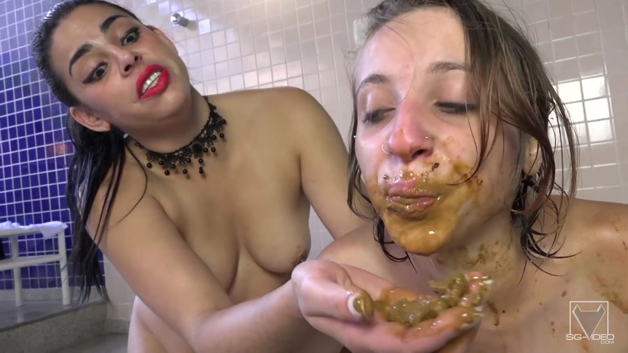 SG-Video: Kate Becker, slave Penelope - In Your Mouth Bitch ! Take My Shit [FullHD 1080p] Femdom, Lesbian