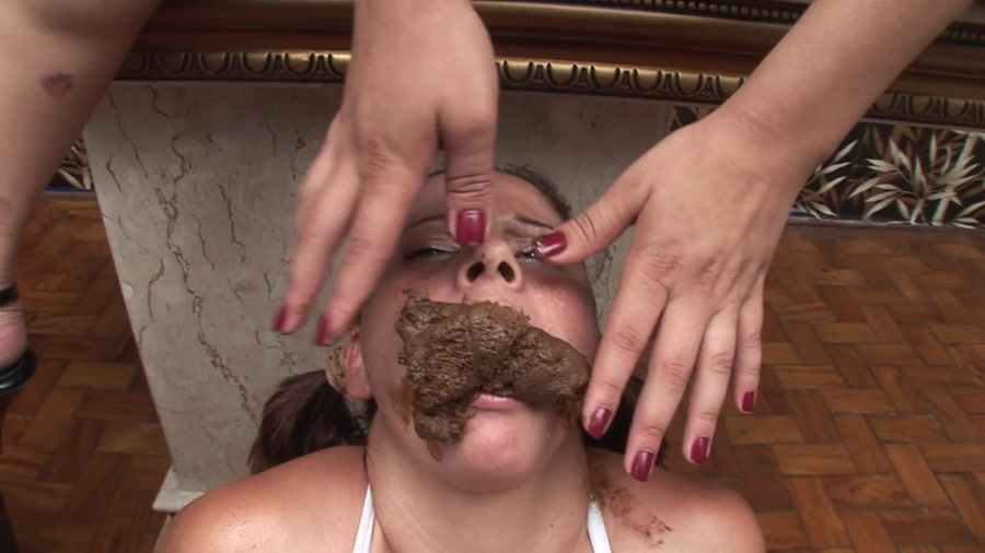 Lumina, Agnese - Scat Secretary Girls Lumina (Femdom, Lesbian) - SG-Video [FullHD 1080p]