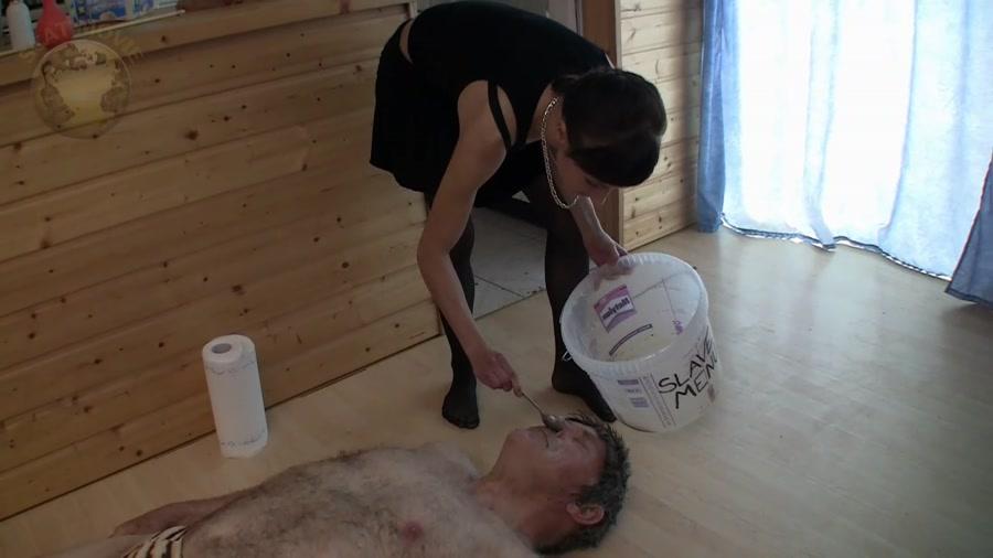 Leatherdyke - Femdom_1010 (Scat Porn, Humiliation) - Toilet Slavery [HD 720p]