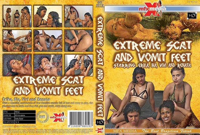 Erika, Bia, Vivi, Renata - [SD-6019] Extreme Shit and Vomit Foot (Domination, Brazil) - MFX Media [HDRip]