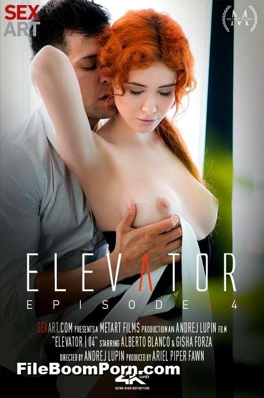 SexArt, MetArt: Gisha Forza - Elevator Part 4 [SD/360p/233 MB]