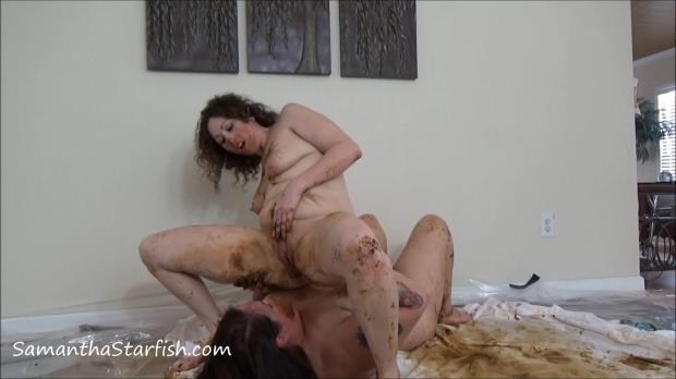 Samantha Starfish, Goddess Amanda - Lesbian Scat [FullHD 1080p]