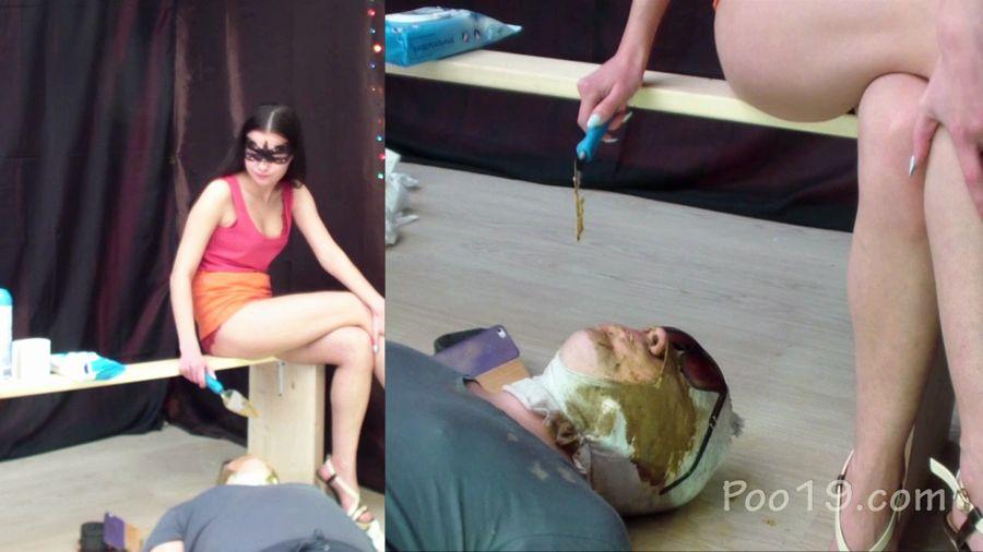 Femdom Scat: Christina, MilanaSmelly - Maximum load! 5 girls. Part 5. Christina with MilanaSmelly [HD 720p] Face Sitting, Toilet Slavery