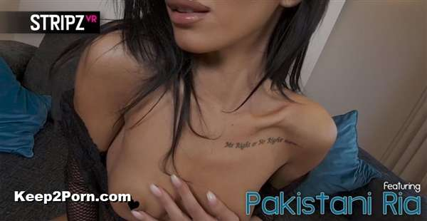 Pakistani Ria - Body Stocking - Petite Girl in Thigh High Stockings [StripzVR / UltraHD 4K 2880p]