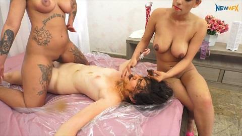 Bruna, Carol Castro, Babi Ventura - FaceShitting! [FullHD, 1080p]