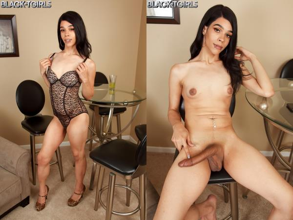 Black-TGirls: Raven Babe - Raven Babe's Hot Climax! (HD Porn, Solo, Transsexual, Shemale) 720p