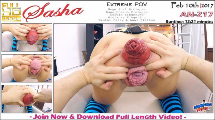 Sasha HD - Extreme POV - AN-217 [FullHD, 1080p]