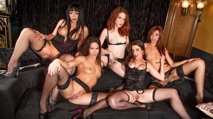 Amarna Miller's girls gone wild / Amarna Miller, Bianca Resa, Gala Brown, Yarisa Duran / 17-09-2018 [SD/540p/MP4/429 MB] by XnotX