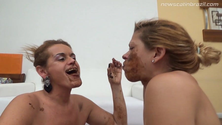 Chris, Diana - Very anxious she will meet an old friend Shit (Scat, Lesbian, Domination) - New Scat In Brazil [FullHD 1080p]