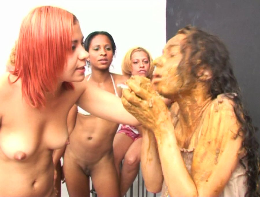 SG Video: Forced to swallow scat 7 - (ShitGirls) [SD]