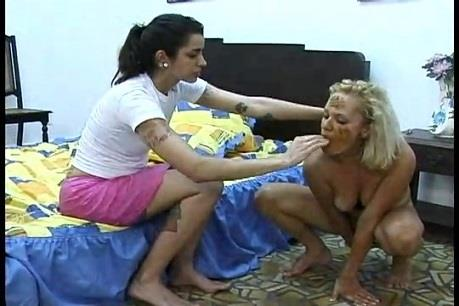 Josie, Sabrina - Scat & Fist Fucking 2 (SD 360p)