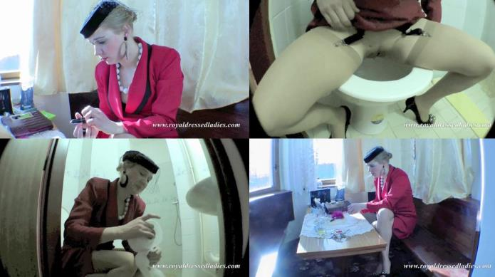 Dirty Czech Whore Toilet Pissing Lady / 21-11-2018 [FullHD/1080p/MP4/137 MB] by XnotX