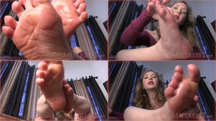 Jerk For Me Foot Lover / Mistress T / 21-11-2018 [HD/720p/MP4/279 MB] by XnotX