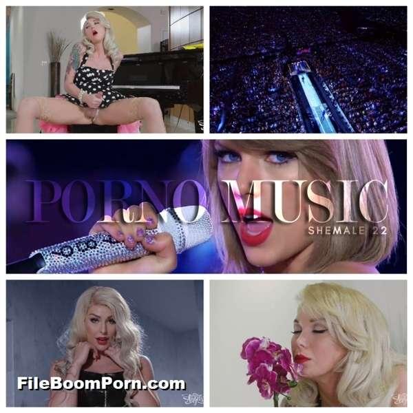 Aubrey Kate, Chanel Santini, Domino Presley, Kimber Lee, Miran - PORNO MUSIC SHEMALE PMV 22 [FullHD/1080p/539 MB]