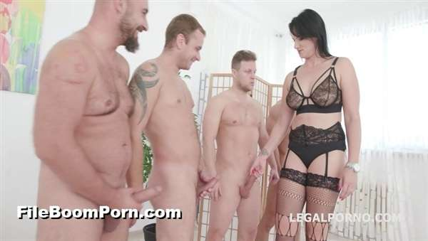 LegalPorno: Sina Velvet, Neeo, Rocket, Thomas Lee, Angelo - Dap Destination, Sina Velvet gets 5on1, No Pussy, Balls Deep Anal, DAP, Facial GIO842 [SD/480p/932 MB]