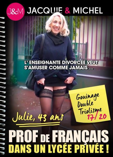 Julie, 43 ans Prof de Francais dans un Lycee Prive (2018/WEBRip/SD)