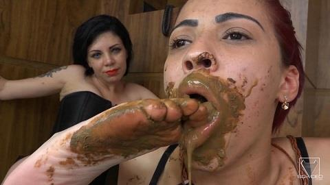 The First Time By Kally Kalifa - Take All My Shit In Your Mouth My Darling (15.11.2018/SG-Video.com/Scat/FullHD/1080p)