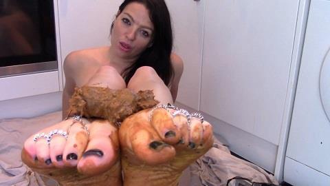 Evamarie88 - My Foot Toilet Slave [FullHD, 1080p]