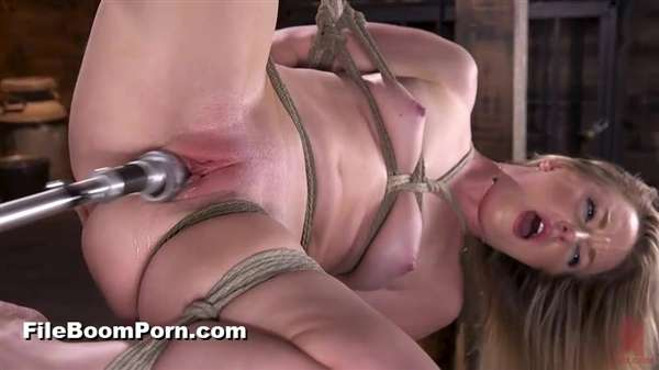 FuckingMachines, Kink: Kate Kennedy - Brand New Blonde in Bondage and Machine Fucked [SD/540p/368 MB]
