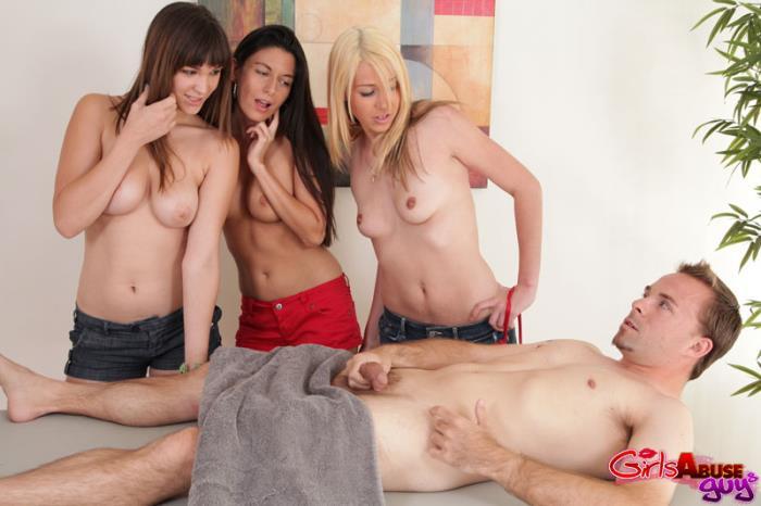 Aubrey Lee, Holly Michaels, Nikki Daniels - Not So Happy Ending (2010) [SD/480p/mp4/351 MB] by Utrodobroe