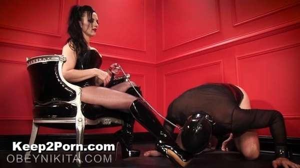 MISTRESS NIKITA - Boot Bitch Gets To Lick [ObeyNikita / FullHD]