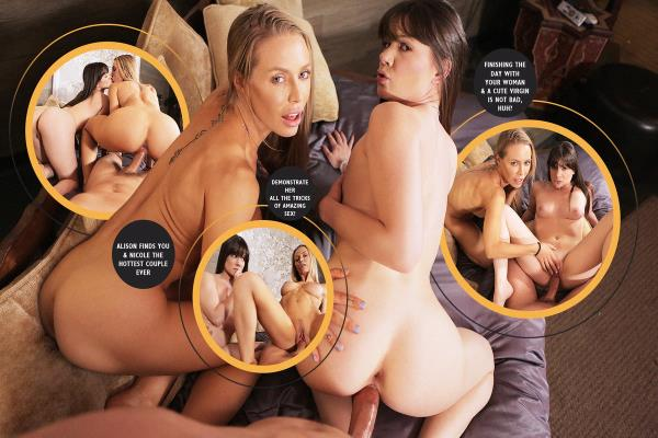 Nicole Aniston, Alison Rey - A Day With Nicole Aniston Part 2 [FullHD 1080p] 2018