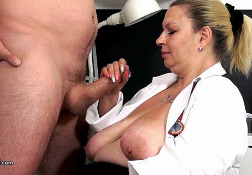 Blanka S - Chubby big breasted doctor lady Blanka cfnm clinic hj (1.03 GB)