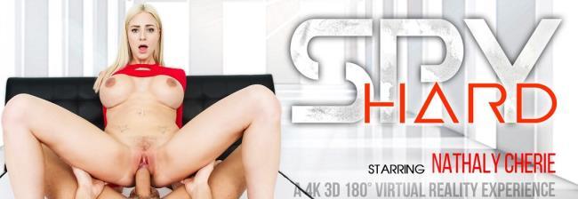 VRBangers.com - Nathaly Cherie- Spy Hard [2018 FullHD] (Big Tits, Blonde, B ...