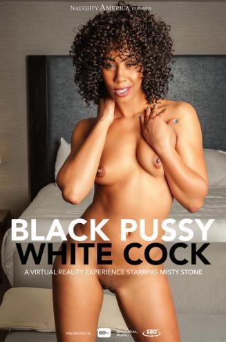 Misty Stone, Ryan Driller - Black Pussy White Cock (06.12.2018/NaughtyAmericaVR.com/3D/VR/UltraHD 2K/2048p)