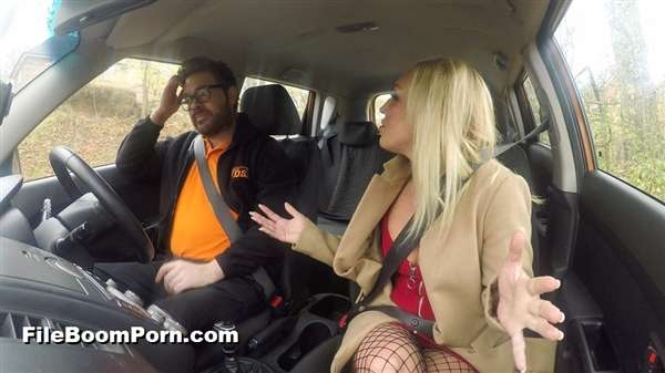 FakeDrivingSchool: Amber Deen - Jealous twin loves a good facial [SD/480p/392 MB]