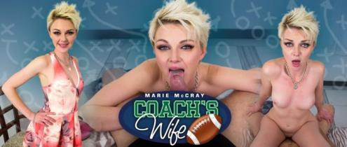 Marie McCray - Coach's Wife (06.12.2018/MilfVR.com/3D/VR/UltraHD 2K/1600p)