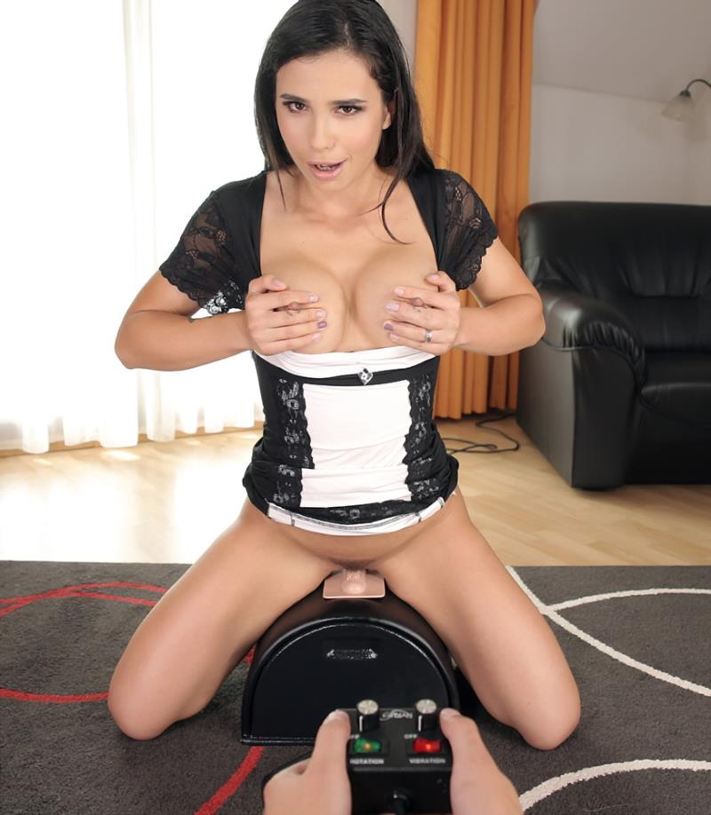 Ninel Mojada: Sybian Cute Brunette Rides Toy (5K / 2700p / 2018) [SexLikeReal]