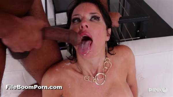 PinkoClub: Veronica Avluv - Very Slutty Brunette MILF Takes An Hard Black Cock All In The Ass [SD/406p/321 MB]
