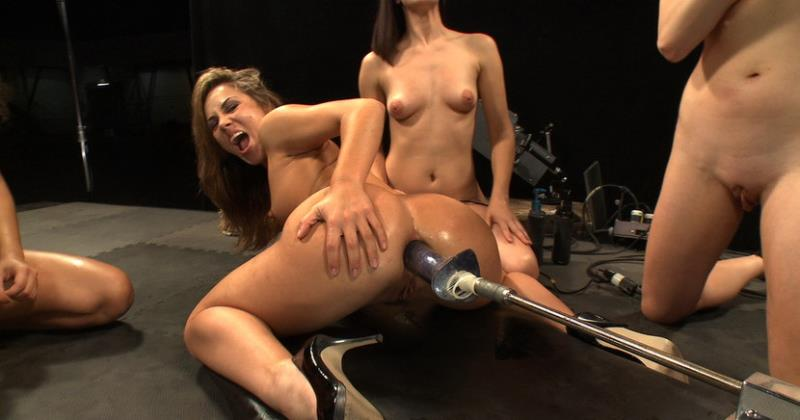 Lorelei Lee, Annie Cruz, Bobbi Starr, Kristina Ros - Multiple Hands Fisting and Fingering the Same Hole, Machines Pounding: Hall of Fame LIVE Part 2 (Kink) [HD 720p]