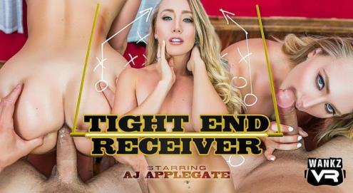 Aj Applegate - Tight End Receiver (01.12.2018/WankzVR.com/3D/VR/UltraHD 4K/2300p)