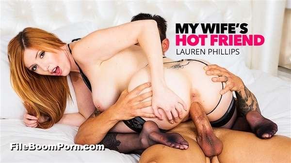 MyWifesHotFriend, NaughtyAmerica: Lauren Phillips - Lauren Phillips Milks A Big Cock [SD/480p/489 MB]
