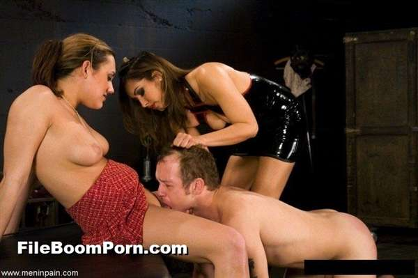 MenInPain: Isis Love, Gwen Diamond, Billy - Female Domination [HD/720p/462 MB]