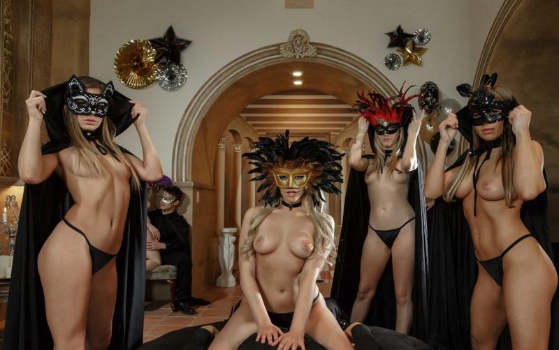 Karla Kush, Kendall Kayden, Mia Malkova, Sydney Cole: Hardcore (FullHD / 1080p / 2018) [NaughtyAmerica]