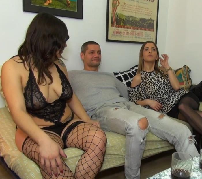 Alicia Gomez, Camille Oceana - Alicia et Dario font rêver Camille ! (HD 720p) - JacquieEtMichelTV - [2018]